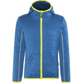Meru Sevilla Fleece Hoody Kids Blue/Green